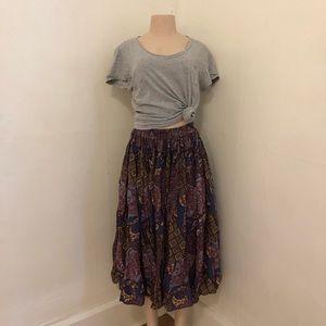 Vintage lightweight cotton skirt